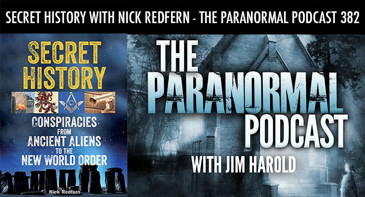 Secret History – The Paranormal Podcast 382