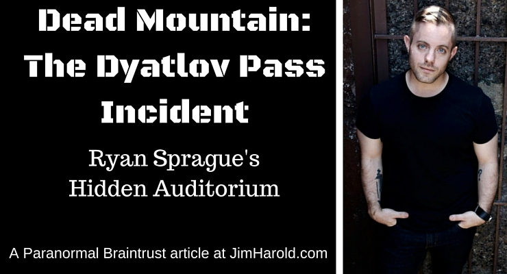 Dead Mountain – The Dyatlov Pass Incident – Ryan Sprague's Hidden Auditorium