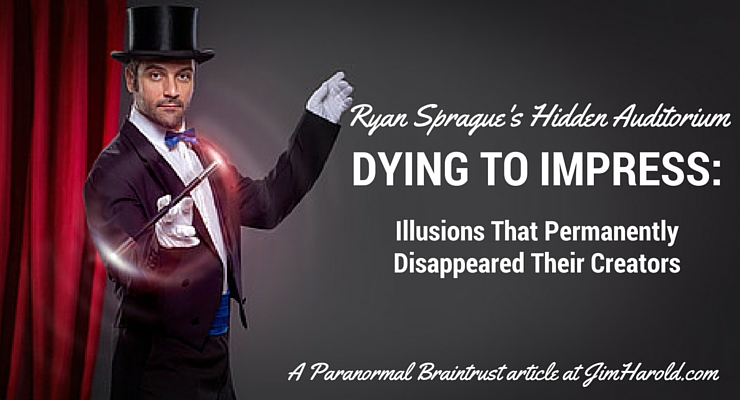 Dying To Impress – Ryan Sprague's Hidden Auditorium
