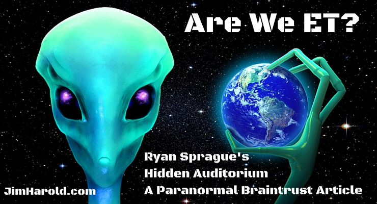 Are We ET? – Ryan Sprague's Hidden Auditorium
