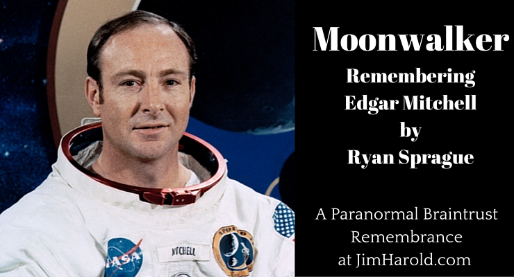 Moonwalker: Remembering Edgar Mitchell by Ryan Sprague